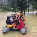 Ratusan Rumah Terendam Banjir di Konut, SAR Bantu Evakuasi