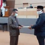 DPRD Tetapkan Perda Pertanggungjawaban Pelaksaan APBD Kota Kendari 2019