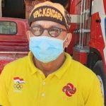 Disdamkar Kendari Semprot Disinfektan ke Rumah Warga