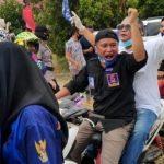 Keri Konggoasa Hadiri Deklarasi Tony-Baharuddin