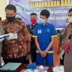 BNNP Sultra Musnahkan 951,27 Gram Sabu