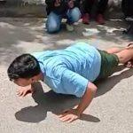 Sanksi Perwali Mulai Diterapkan 6 Warga Disanksi Push Up