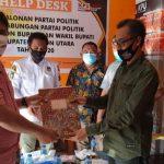 KPUD Butur, Tetapkan 3 Calon Bupati dan Wakil Bupati di Pilkada 2020