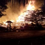 Lima Rumah di Koltim Terbakar, Tiga Diantaranya Rata dengan Tanah