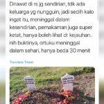 Viral Cerita Sekeluarga, Ayah-Ibu Meninggal Selisih 30 Menit karena Corona