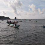 Paslon HATI Diarak Puluhan Kapal Suku Bajo