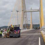 Ali Mazi Uji Kelayakan Jembatan Teluk Kendari Jalani Pengujian