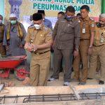 Walikota Dukung Pembangunan Menara Masjid Nurul Huda Poasia