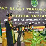576 Mahasiswa UMK Ikuti Wisuda ke XX