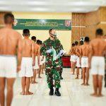 Pangdam Hasanuddin Pimpin Sidang Calon Tamtama Angkatan 2020