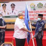 Gubernur Sultra Melepas Kafilah MTQ Sultra