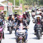 Ratusan Rider Konsel Sosialisasi Keselamatan Berlalu Lintas