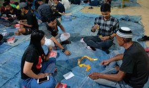 Relawan ASR di Konsel Gelar Lomba Berhadiah dan Sumbang Kubah Masjid