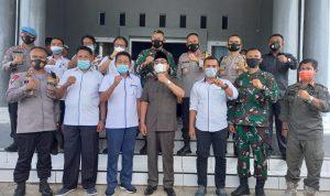 Kapolda dan Danrem Pantau Kesiapan Pengamanan Pilkada Butur