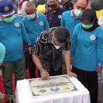 Wali Kota Kendari Resmikan Program Keserasian Sosial di Kelurahan Sanua