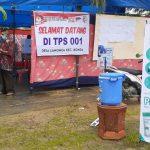 Hindari Penyebaran Covid-19 10 TPS di Kecamatan Konda Patuhi Prokes