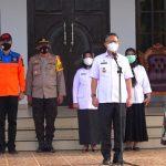 Pemkot Kendari Bersama Tim Yustisi Gelar Apel Pengamanan