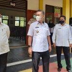 Wali Kota Pantau Persiapan PTM di SMPN 19 Kendari