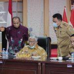 Gubernur Gelar Rapat Terbatas, Bahas Aspal Buton