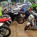 22 Unit Kendaraan Knalpot Bogar Ditilang
