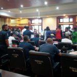 RDP Pembahasan Penataan Terminal Pelabuhan Kendari Ricuh