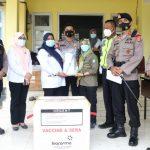 10 Kabupaten/Kota di Sultra Jemput Vaksin Covid 19