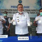 Tangkap Pengedar Sabu, BNN Sutra Amankan 713 Gram Sabu