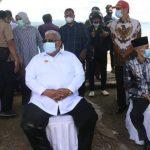 Gubernur Tinjau Lokasi Pembuatan Patung Sultan Himayatuddin