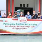 FKIJK Sultra Berikan Bantuan ke Sulbar