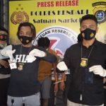 Dua Orang Pengedar Sabu di Kendari Ditangkap