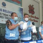 Dua Kurir Pembawa Sabu 2 Kg Ditangkap