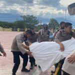 Personel Brimob Asal Sultra Gugur