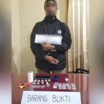 Polda Sultra Bekuk Pegedar Narkoba Dipekarangan Swalayan
