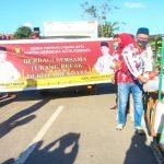 Ratusan Tukang Becak di Kendari Terima Sembako dari Partai Gerindra dan ASR