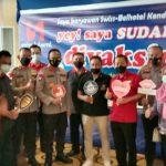 Jelang Triathlon, Ratusan Karyawan Hotel di Kota Kendari Divaksin