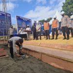 Kapolda Lakukan Peletakan Batu Pertama Pembangunan Gedung Dalmas dan BPKP Dit Lantas