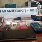 PNS di Baubau Ditangkap Edarkan Sabu
