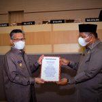 DPRD Paripurnakan Penarikan Raperda Rencana Detail Tata Ruang