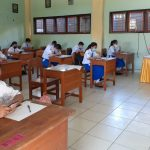 SMP Frater Laksanakan Ujian Semester Secara Offline