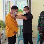 Pj Kades Banu-banua Jaya, Ajak Mahasiswa KKN Dukung Penerapan PPKM