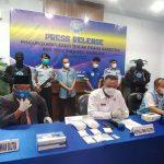 BNNP Sultra Amankan 1.5 Kg Sabu dan Pengendali Narkoba Lapas IIA Kendari