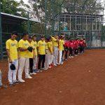 Tim Softball Sultra Uji Coba dengan Sulsel