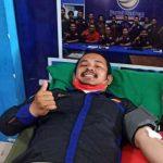 Garda Pemuda Nasdem Sultra Gelar Donor Darah