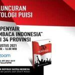 """Rayakan Hari Kemerdekaan TISI Luncurkan Antologi """"76 Penyair Membaca Indonesia"""""""