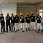 ASR Konawe Bagikan Masker Ke Pekerja PT VDNI