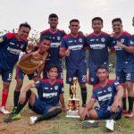Tim Barangka Menjuarai Kosmaba Cup II
