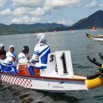 Tim Dragon Boat Putri Sultra Kembali Sumbang Perak